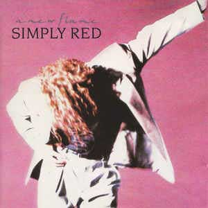 Simply Red A New Flame Single Cover
