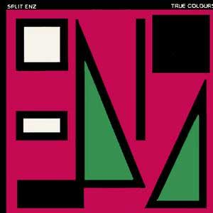 Split Enz True Colours Album Cover