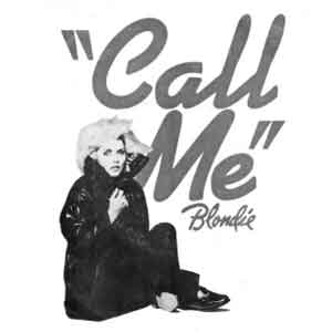 Blondie Call Me Single Cover