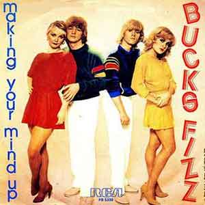 Bucks Fizz Making Your Mind Up Single Cover
