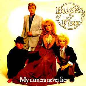 Bucks Fizz My Camera Never Lies Single Cover