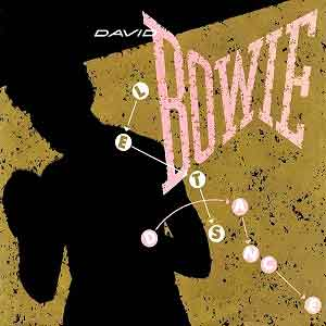 David Bowie Let's Dance Single Cover