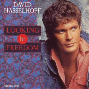 David Hasselhoff Looking For Freedom Single Cover
