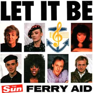Ferry Aid Let It Be Single Cover