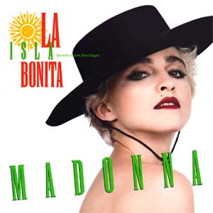 madonna la isla bonita single cover