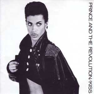Prince & The Revolution Kiss Single Cover