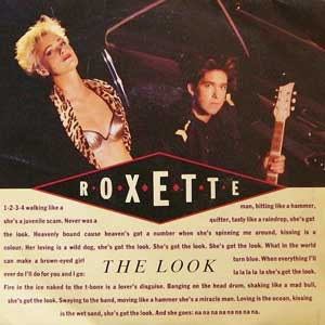 Roxette The Look Single Cover