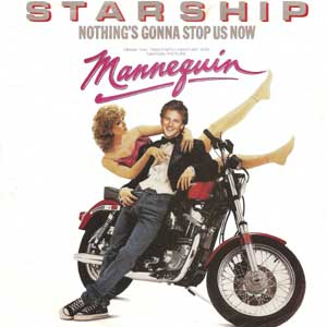 Starship Nothing's Gonna Stop Us Now Single Cover
