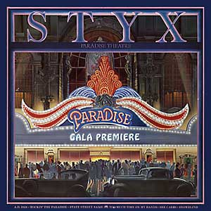 Styx Paradise Theatre Album Cover