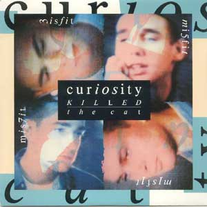 Curiosity killed The Cat - Misfit - Single Cover