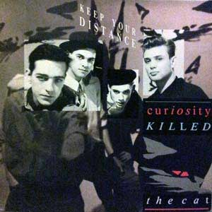 Curiosity Killed the Cat Keep Your Distance Album Cover