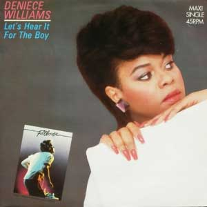 Deniece Williams Lets Hear It For The Boy Single Cover