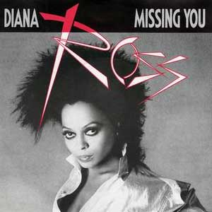 Diana Ross - Missing You - Single Cover