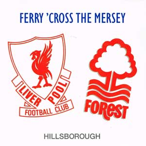 Ferry Cross The Mersey Single Cover 1989