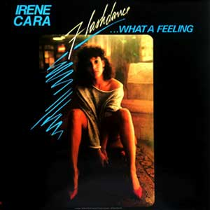 Flashdance... What a Feeling Irene Cara Single Cover