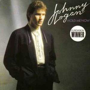 Johnny Logan - Hold Me Now - Single Cover