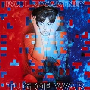 Paul McCartney Tug Of War Album Cover