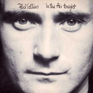 Phil Collins In The Air Tonight Single Cover