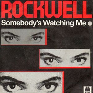 Rockwell Somebody's Watching Me Single Cover