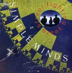 Simple Minds Street Fighting Years Album Cover