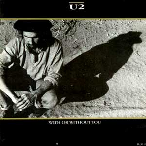 U2 With Or Without You Single Cover