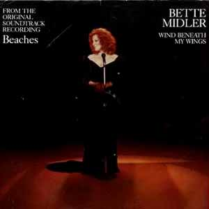 Bette Midler Wind Beneath My Wings Single Cover