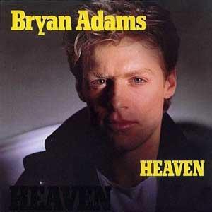 Bryan Adams Heaven Single Cover