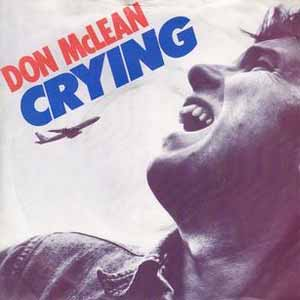 Don McLean Crying Single Cover