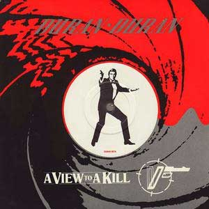 Duran Duran A View To A Kill Single Cover