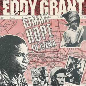 Eddy Grant Gimme Hope Joanna Single Cover