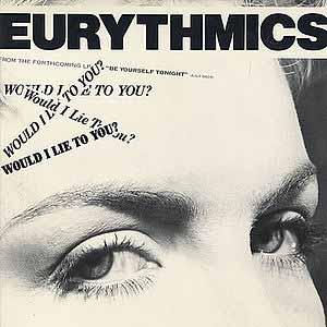 Eurythmics Would I Lie To You Single Cover