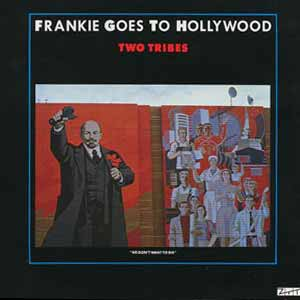 Frankie Goes To Hollywood Two Tribes Single Cover