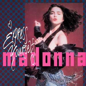 Madonna Express Yourself Single Cover