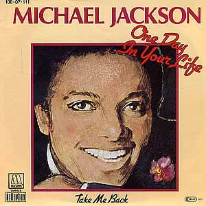 Michael Jackson - One Day In My Life - Single Cover