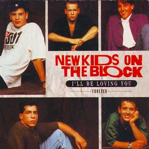 New Kids On The Block – I'll Be Loving You (Forever) Single Cover