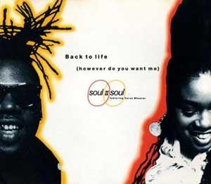 Soul II Soul - Back To Life SIngle Cover