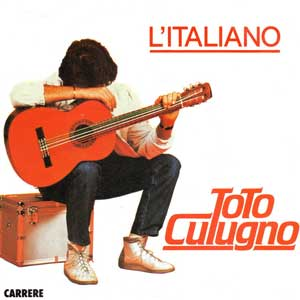 Toto Cutugno L'Italiano Single Cover