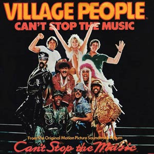 Village People - Can't Stop The Music - Single Cover