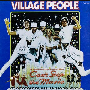 Village People Can't Stop The Music Soundtrack Album Cover
