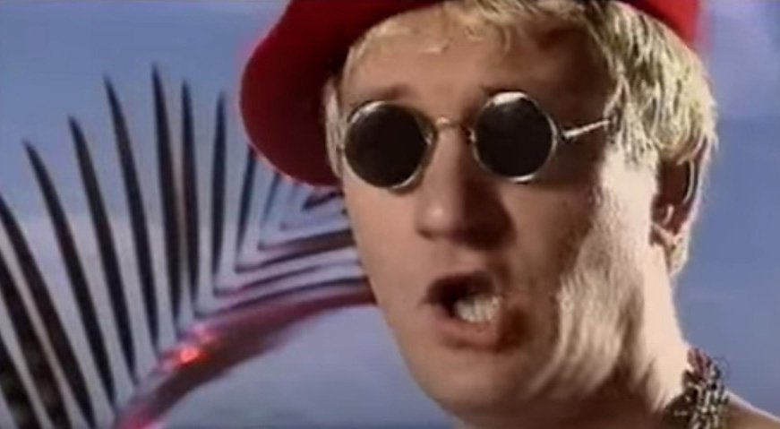 Captain Sensible - Happy Talk - Official Music Video