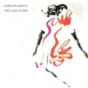 Chris de Burgh - The Lady In Red - Single Cover