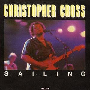 Christopher Cross - Sailing - Single Cover