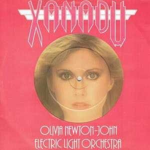 ELO Olivia Newton John Xanadu Single Cover