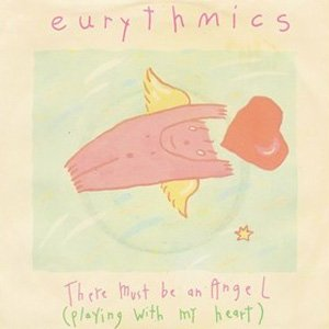 Eurythmics There Must Be an Angel (Playing with My Heart) Single Cover