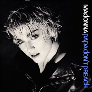 Madonna Papa Don't Preach Single Cover