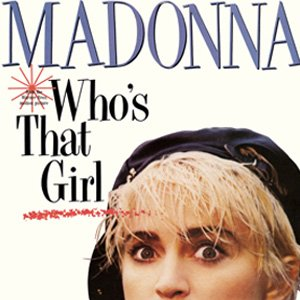 Madonna Who's That Girl Single Cover