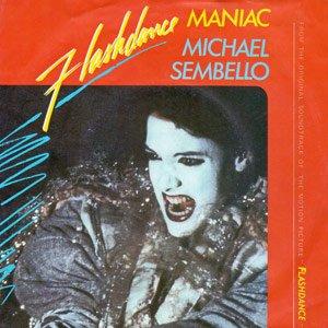 Michael Sembello - Maniac - Flashdance - Single Cover