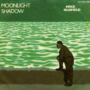 Mike Oldfield Moonlight Shadow Single Cover