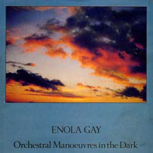OMD Enola Gay Single Cover