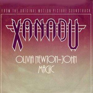 Olivia Newton-John Magic Single Cover